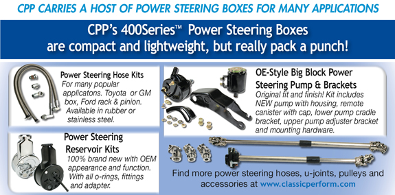 CPP ShopTalk - 400Series Power Steering Boxes for C-10 Truck